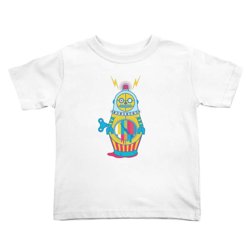 Does Not Compute Kids Toddler T-Shirt by Quick Brown Fox
