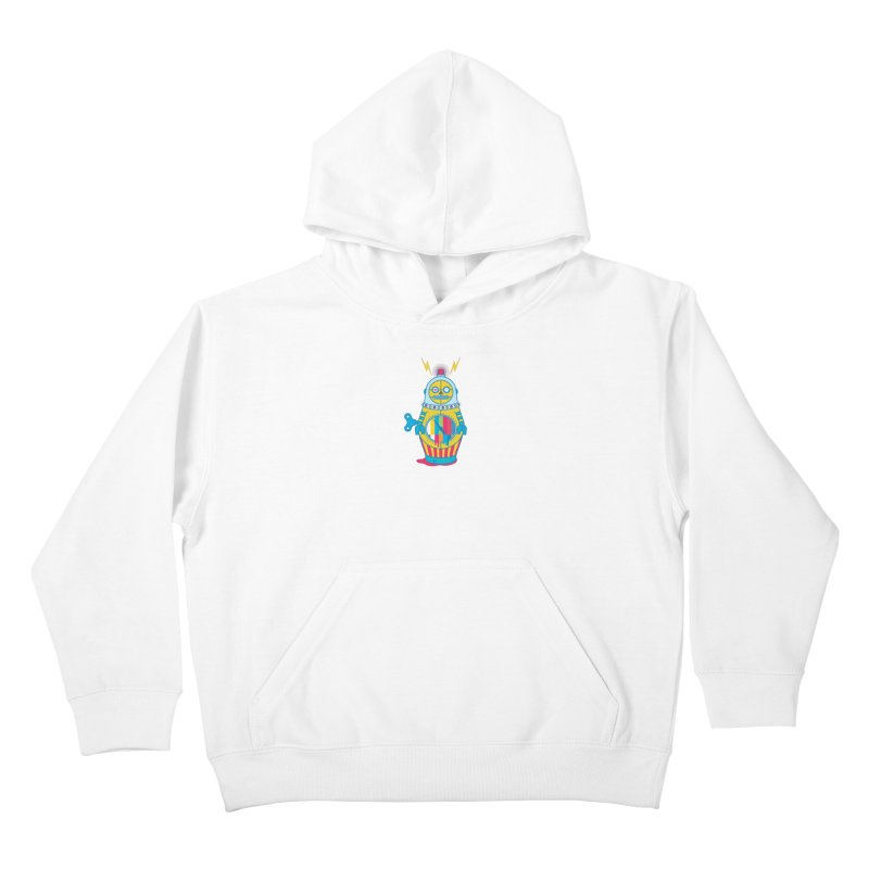 Does Not Compute Kids Pullover Hoody by Quick Brown Fox