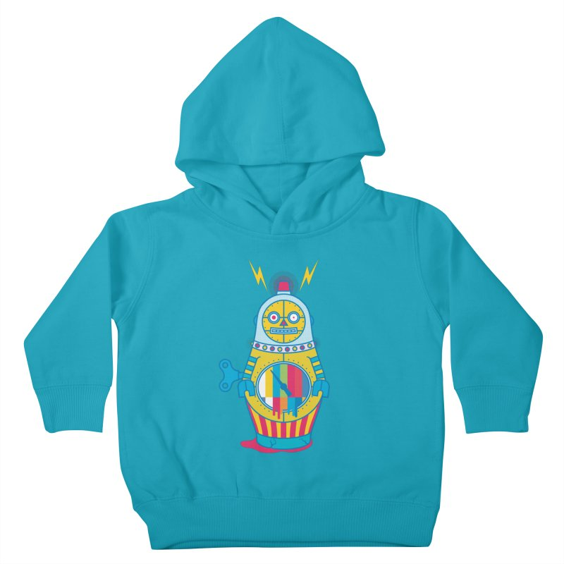 Does Not Compute Kids Toddler Pullover Hoody by Quick Brown Fox