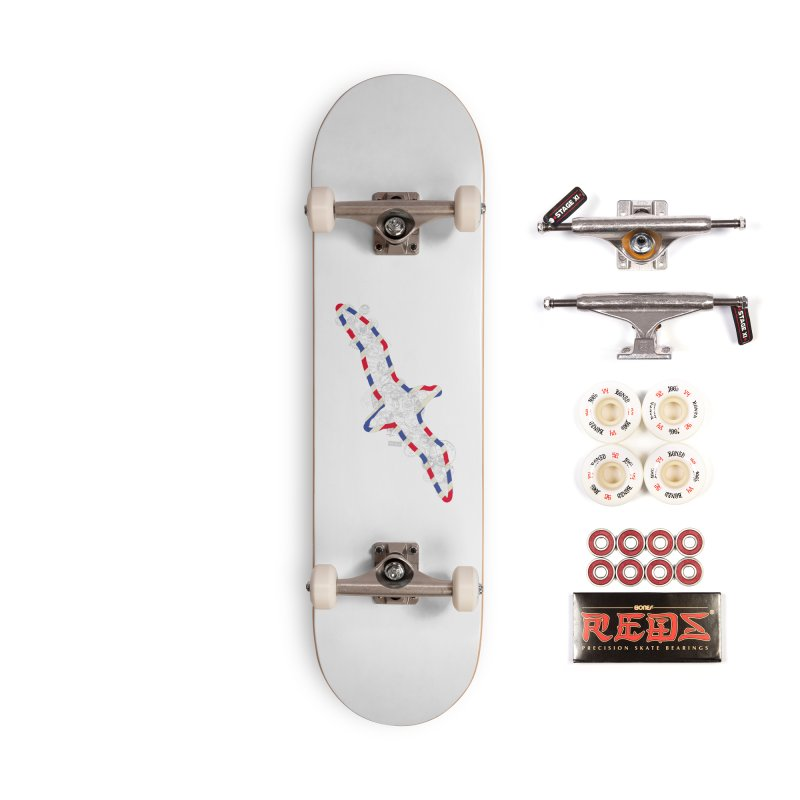 Wish You Were Here, There and Everywhere Accessories Complete - Pro Skateboard by Quick Brown Fox