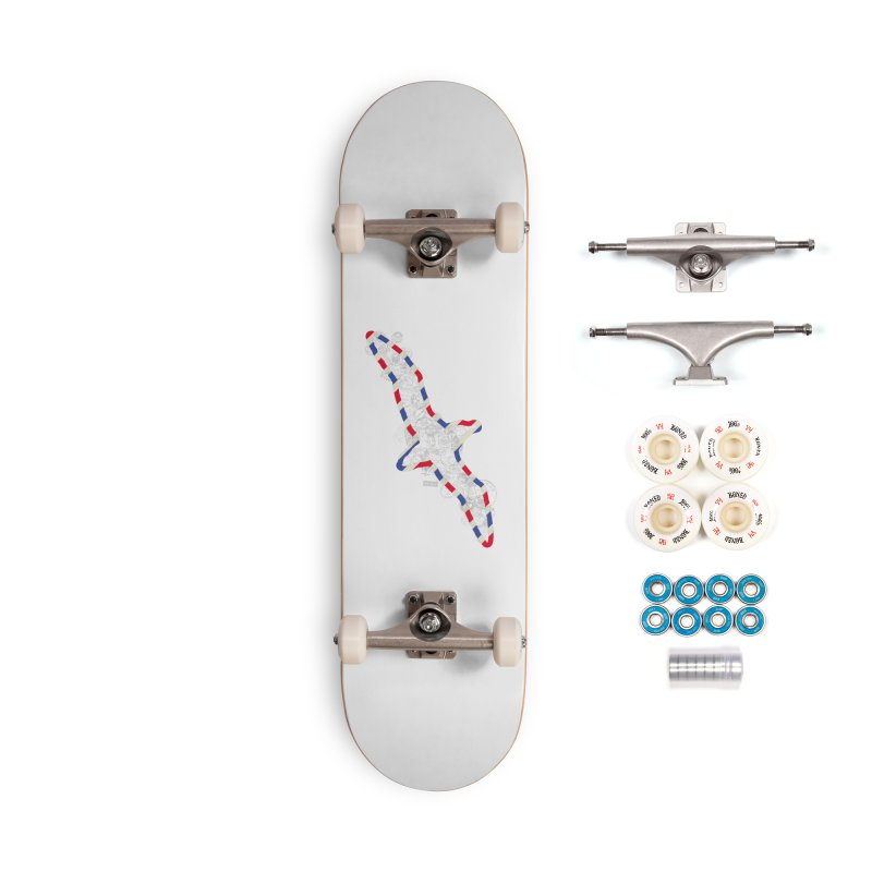 Wish You Were Here, There and Everywhere Accessories Complete - Premium Skateboard by Quick Brown Fox