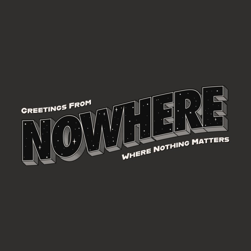 Greetings From Nowhere Men's T-Shirt by Quick Brown Fox