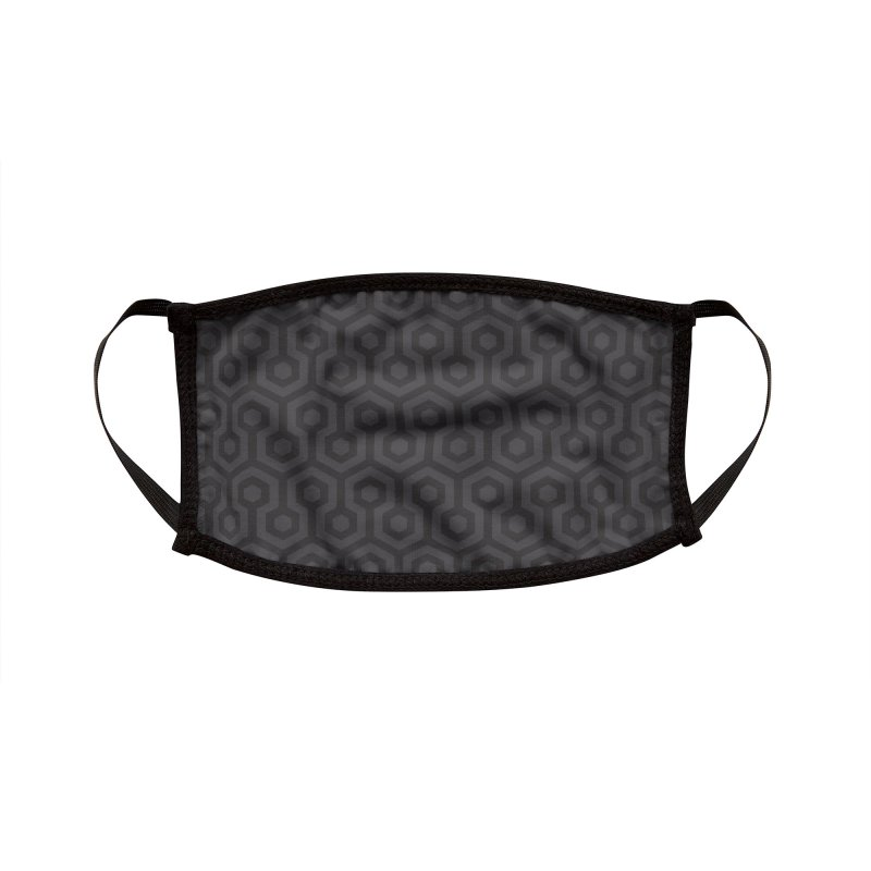 Overlook (Mono) Accessories Face Mask by Quick Brown Fox
