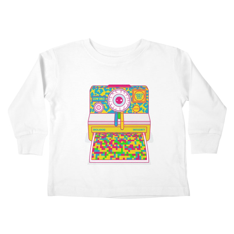 Low Bro Kids Toddler Longsleeve T-Shirt by Quick Brown Fox