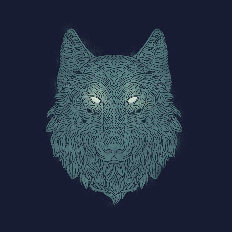 Wolf of Winter Women's Dolman by qbf