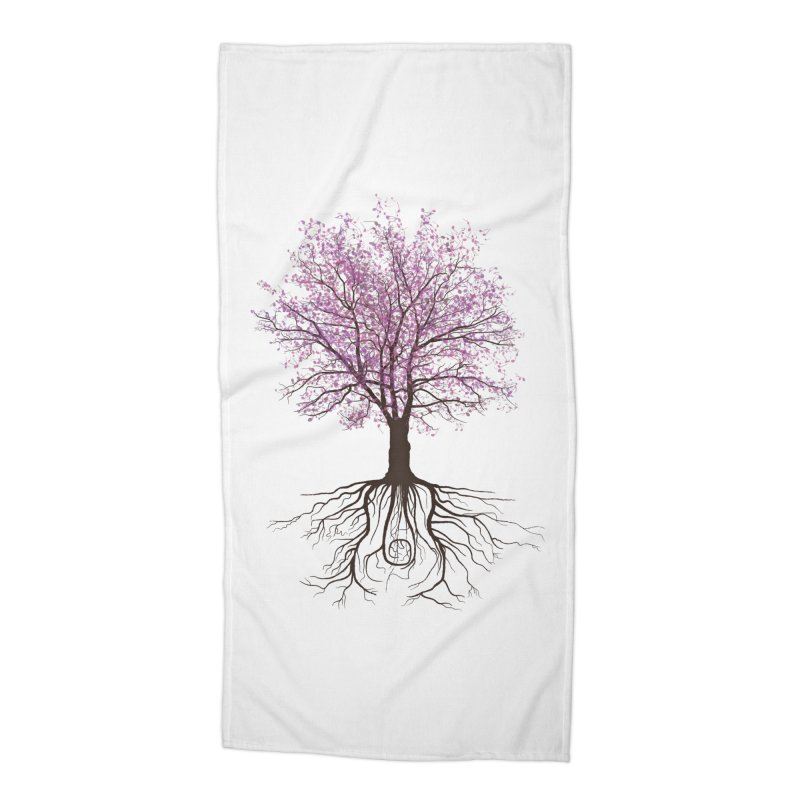 It Grows on Trees Accessories Beach Towel by Quick Brown Fox