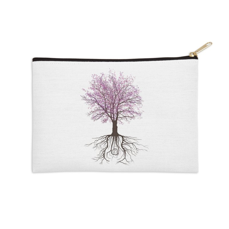 It Grows on Trees Accessories Zip Pouch by Quick Brown Fox