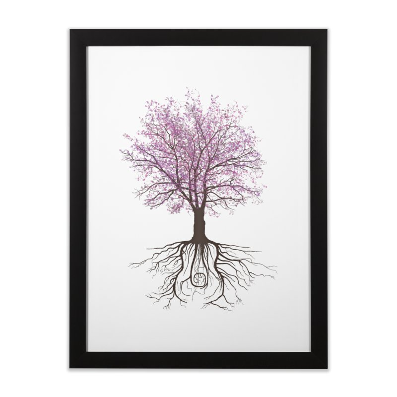 It Grows on Trees Home Framed Fine Art Print by Quick Brown Fox