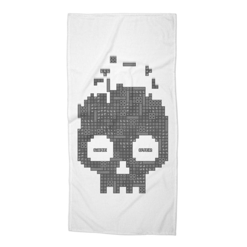 Dead Boy Accessories Beach Towel by Quick Brown Fox