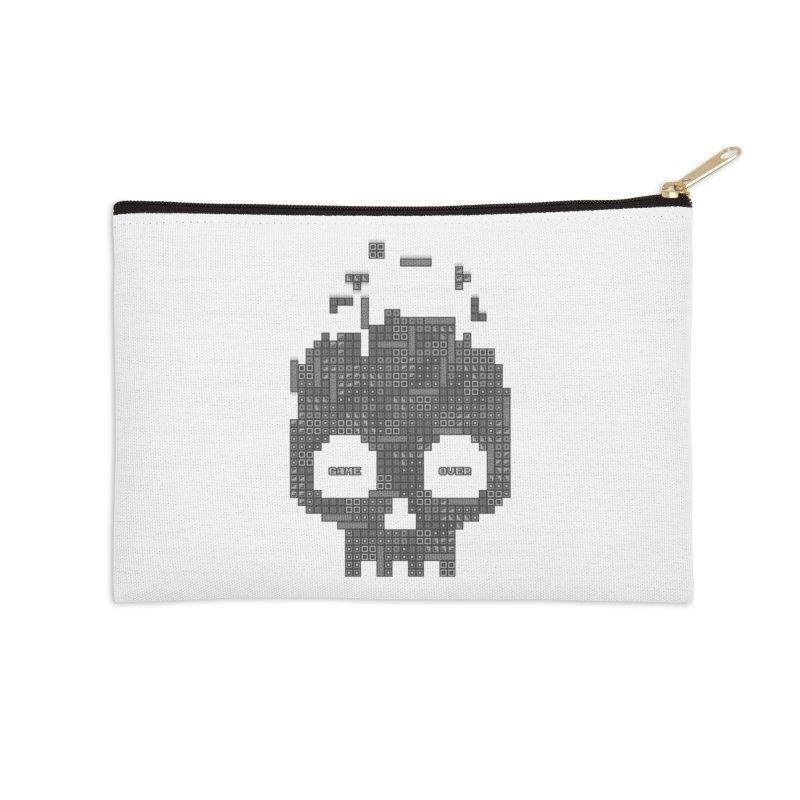 Dead Boy Accessories Zip Pouch by Quick Brown Fox