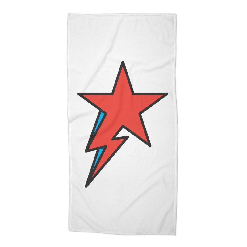 The Prettiest Star Accessories Beach Towel by Quick Brown Fox