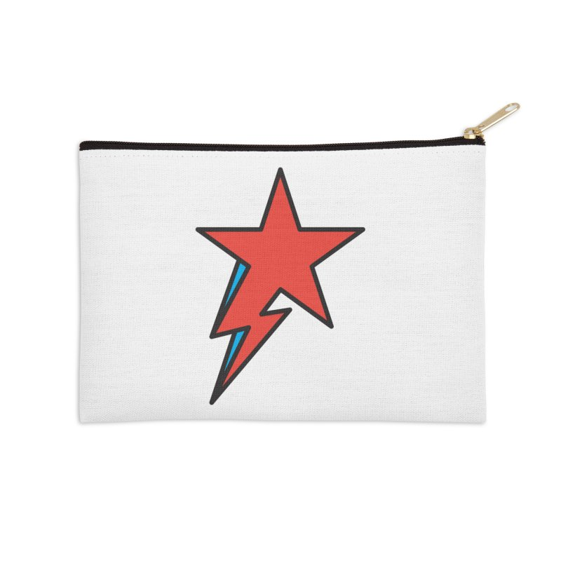 The Prettiest Star Accessories Zip Pouch by Quick Brown Fox