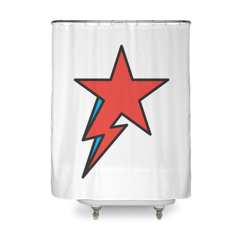 The Prettiest Star Home Shower Curtain by Quick Brown Fox