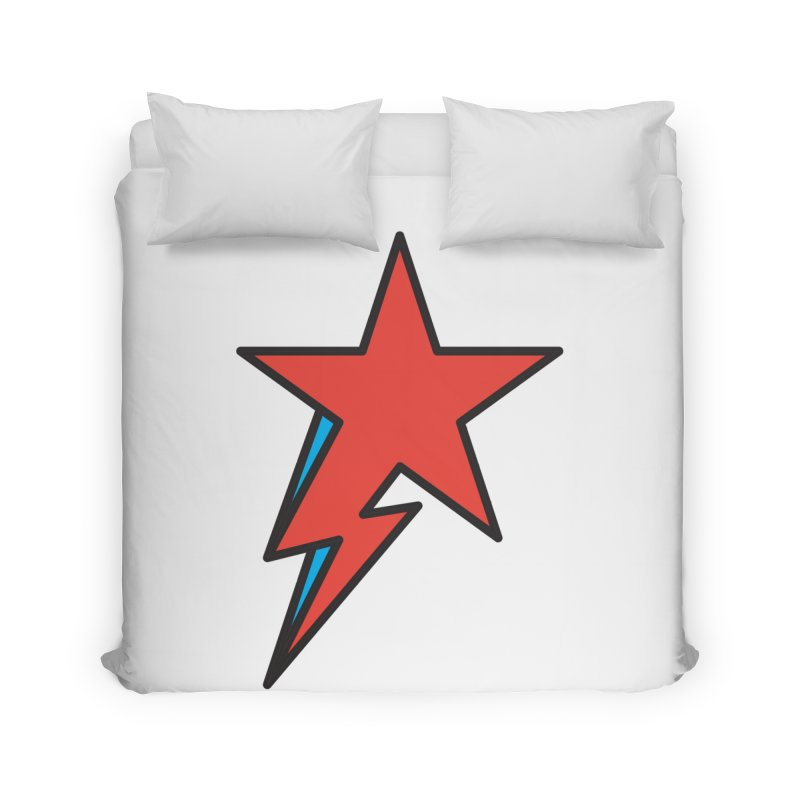 The Prettiest Star Home Duvet by Quick Brown Fox