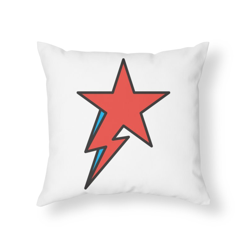 The Prettiest Star Home Throw Pillow by Quick Brown Fox