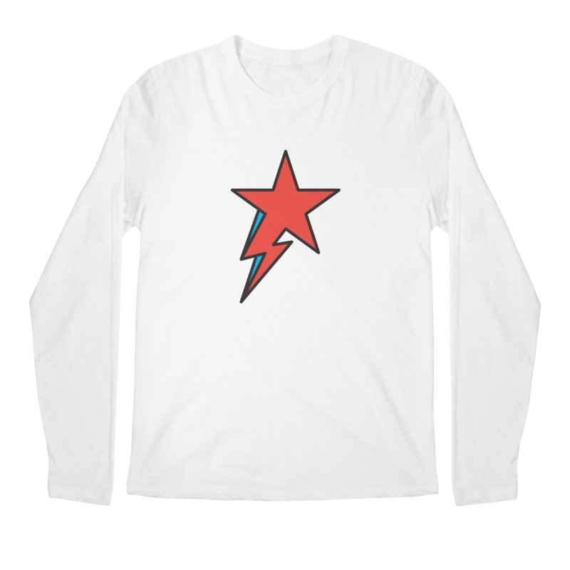 The Prettiest Star Men's Longsleeve T-Shirt by Quick Brown Fox