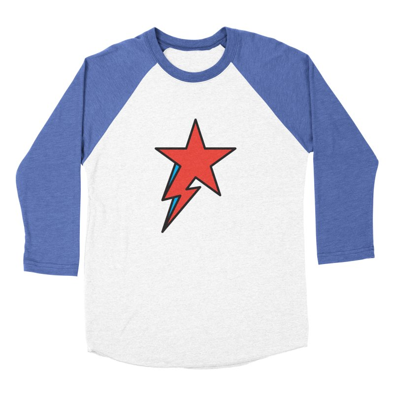 The Prettiest Star Women's Baseball Triblend Longsleeve T-Shirt by Quick Brown Fox