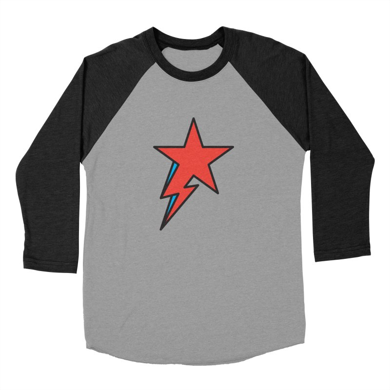 The Prettiest Star Men's Baseball Triblend T-Shirt by Quick Brown Fox