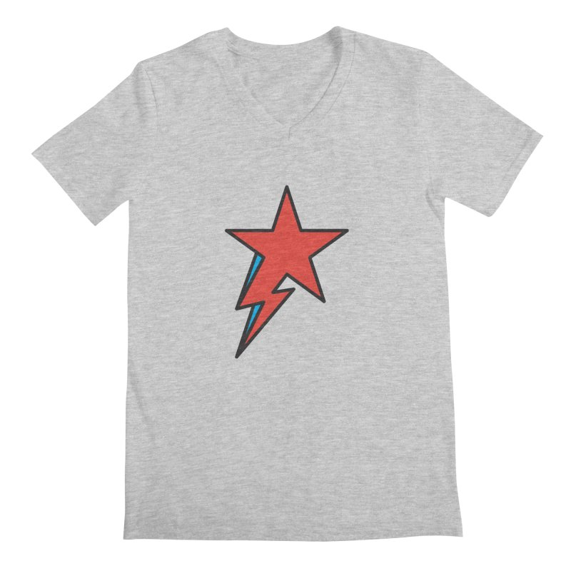 The Prettiest Star Men's V-Neck by Quick Brown Fox