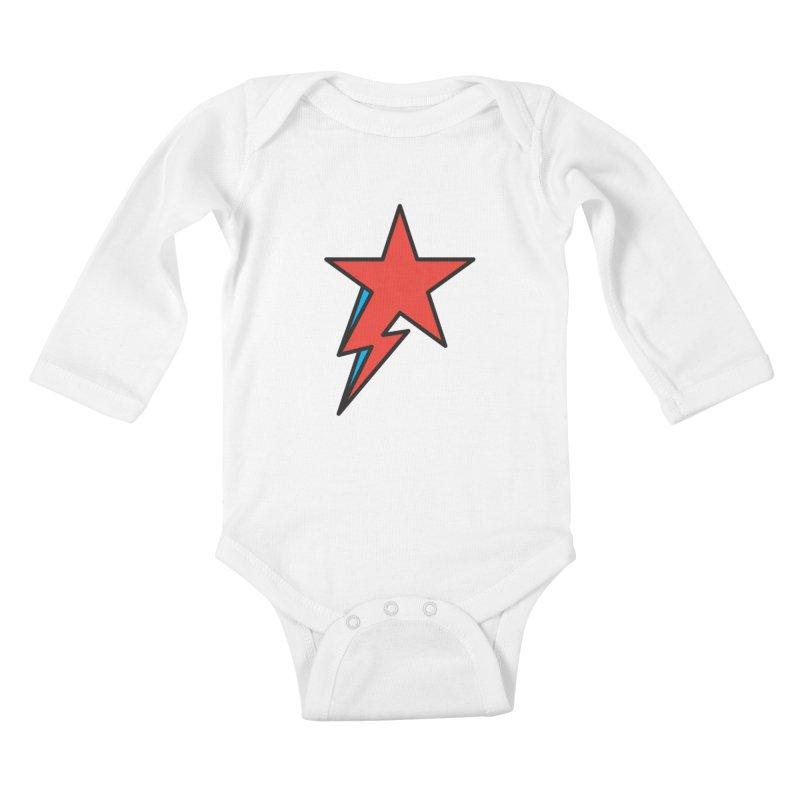 The Prettiest Star Kids Baby Longsleeve Bodysuit by Quick Brown Fox