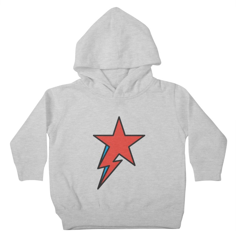 The Prettiest Star Kids Toddler Pullover Hoody by Quick Brown Fox