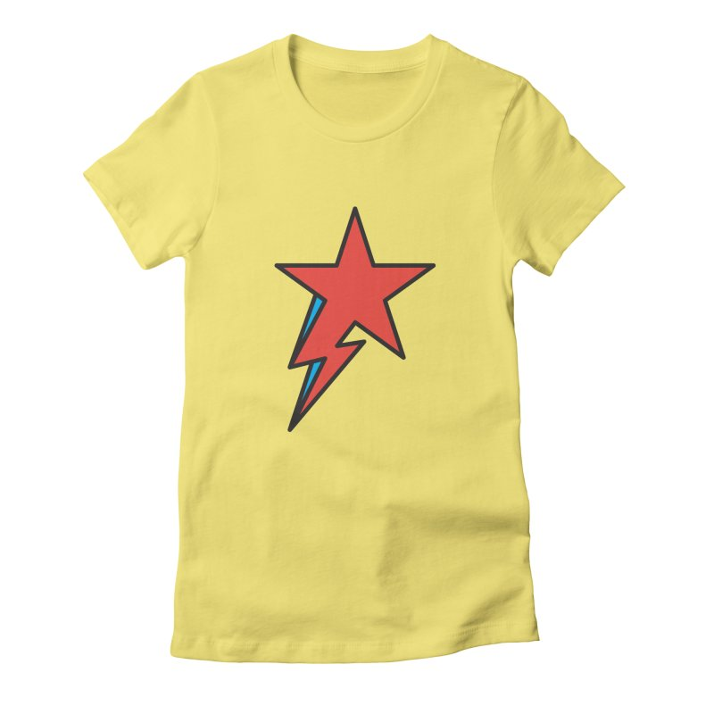 The Prettiest Star Women's Fitted T-Shirt by Quick Brown Fox