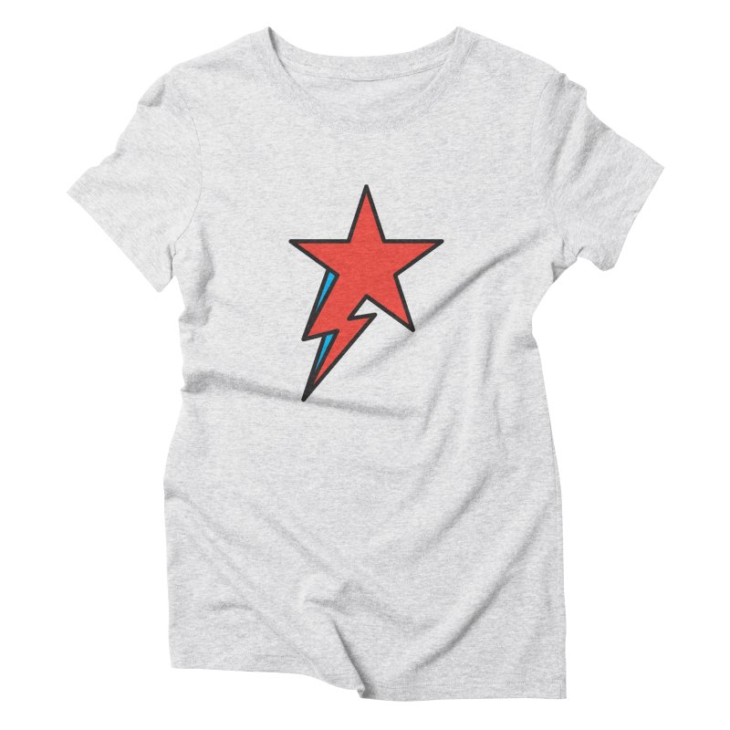 The Prettiest Star Women's Triblend T-shirt by Quick Brown Fox