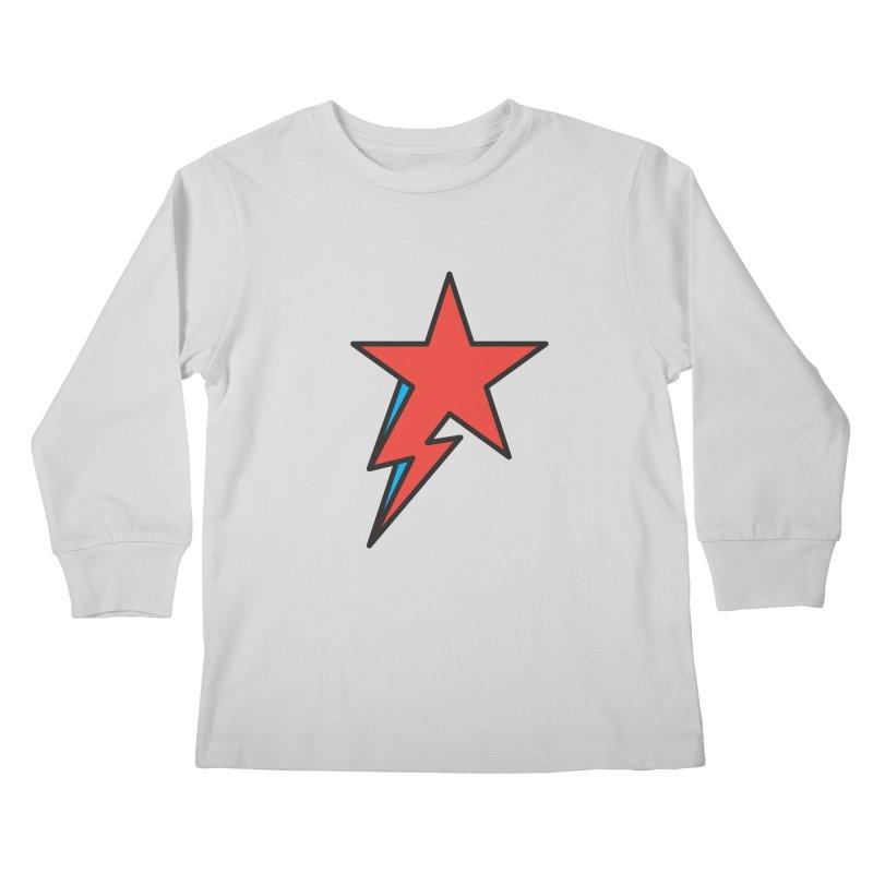 The Prettiest Star Kids Longsleeve T-Shirt by Quick Brown Fox