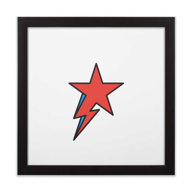 The Prettiest Star Home Framed Fine Art Print by Quick Brown Fox