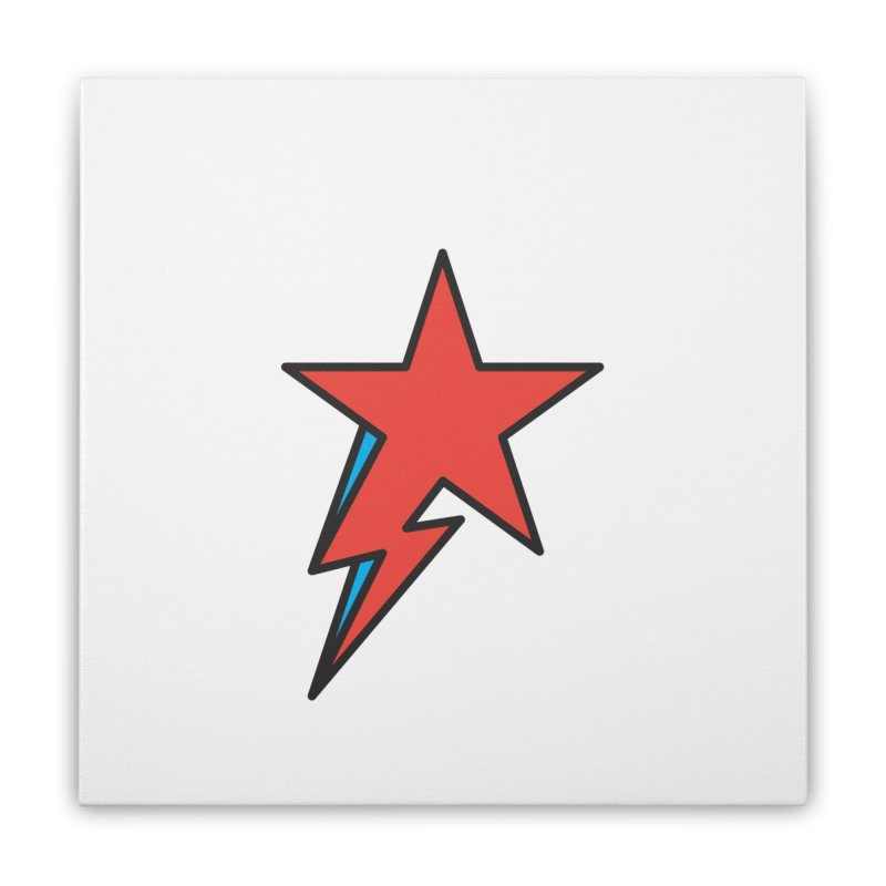 The Prettiest Star Home Stretched Canvas by Quick Brown Fox