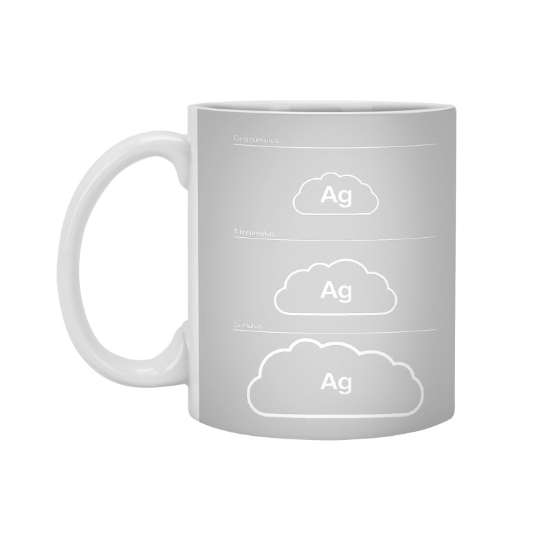 Every Cloud has a Silver Lining Accessories Mug by Quick Brown Fox