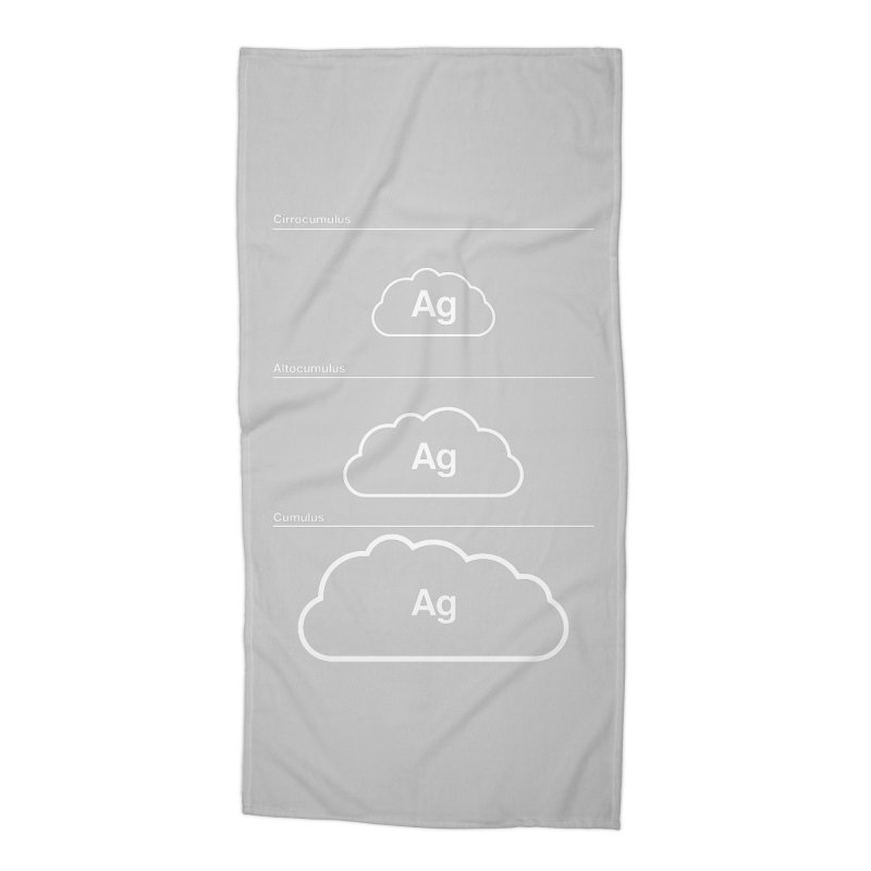 Every Cloud has a Silver Lining Accessories Beach Towel by Quick Brown Fox