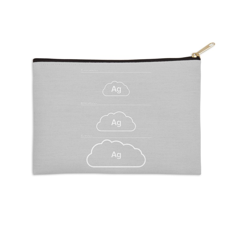 Every Cloud has a Silver Lining Accessories Zip Pouch by Quick Brown Fox
