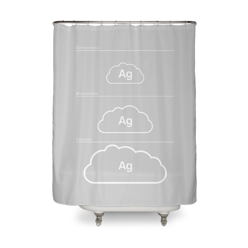 Every Cloud has a Silver Lining Home Shower Curtain by Quick Brown Fox