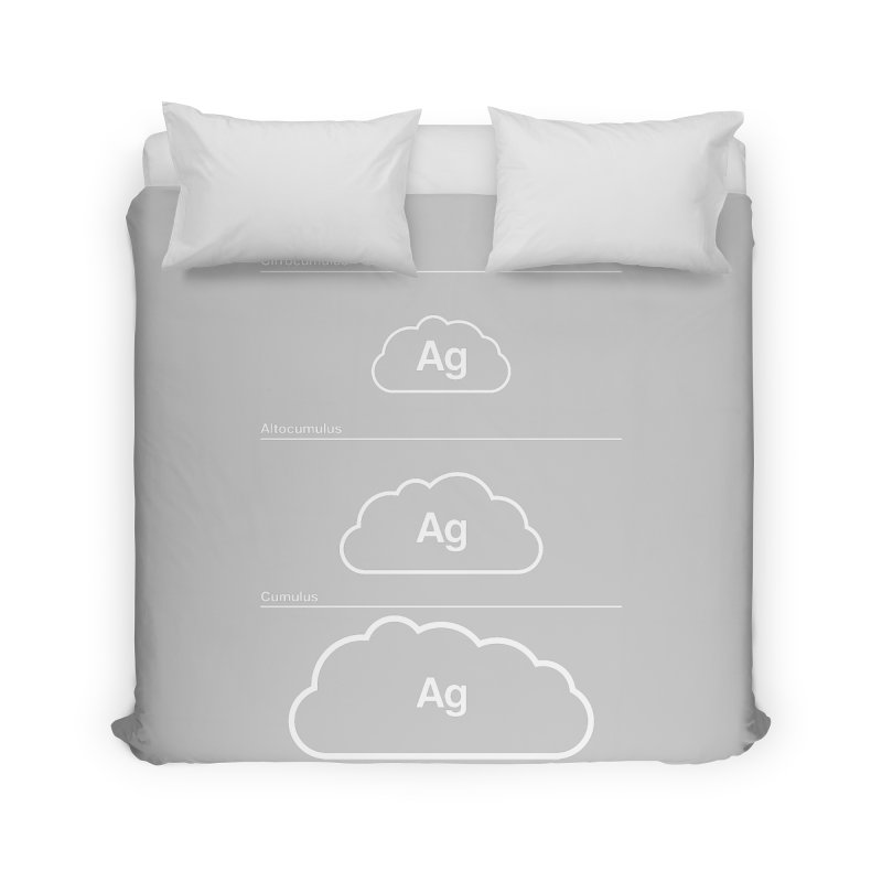 Every Cloud has a Silver Lining Home Duvet by Quick Brown Fox