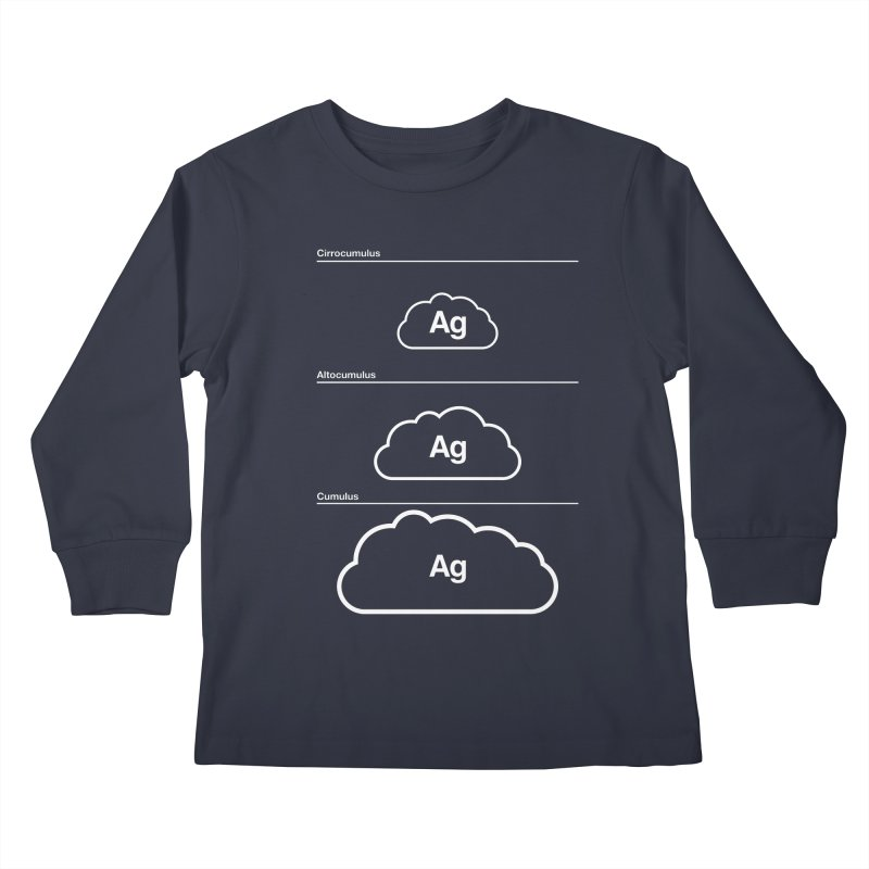 Every Cloud has a Silver Lining Kids Longsleeve T-Shirt by Quick Brown Fox
