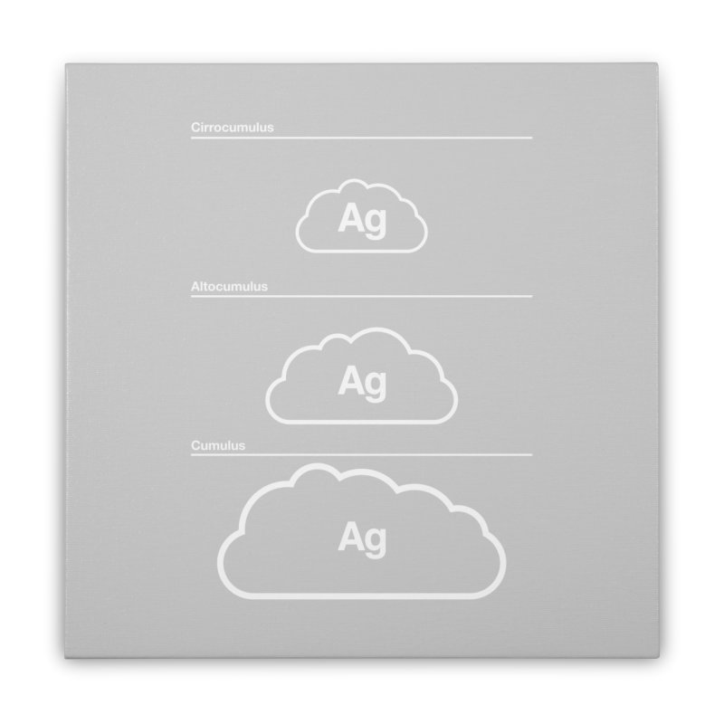 Every Cloud has a Silver Lining Home Stretched Canvas by Quick Brown Fox
