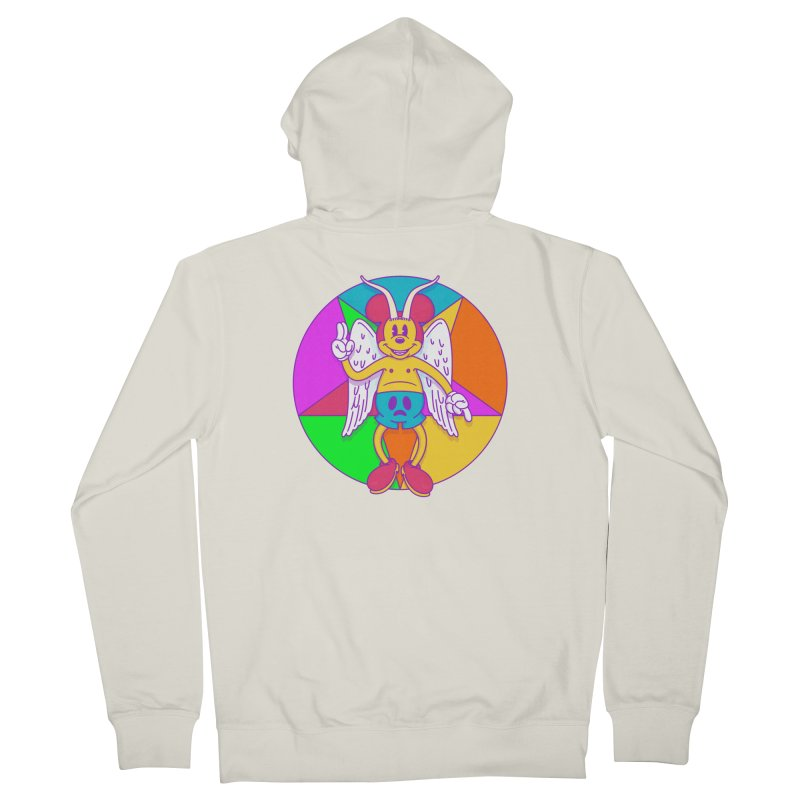 Better the Devil you Know Men's Zip-Up Hoody by Quick Brown Fox