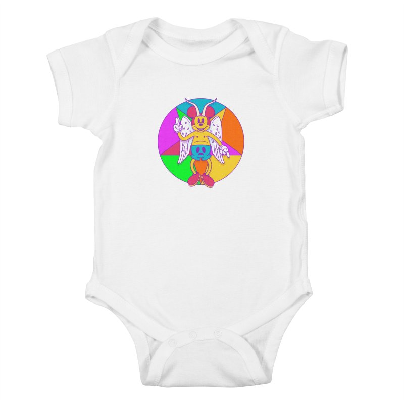 Better the Devil you Know Kids Baby Bodysuit by Quick Brown Fox