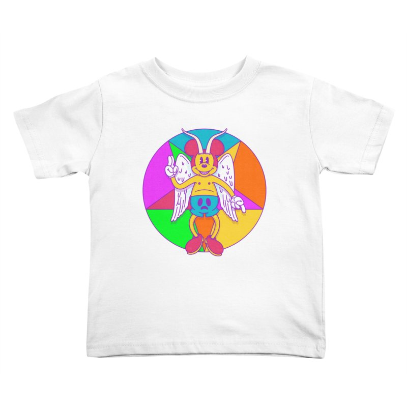 Better the Devil you Know Kids Toddler T-Shirt by Quick Brown Fox