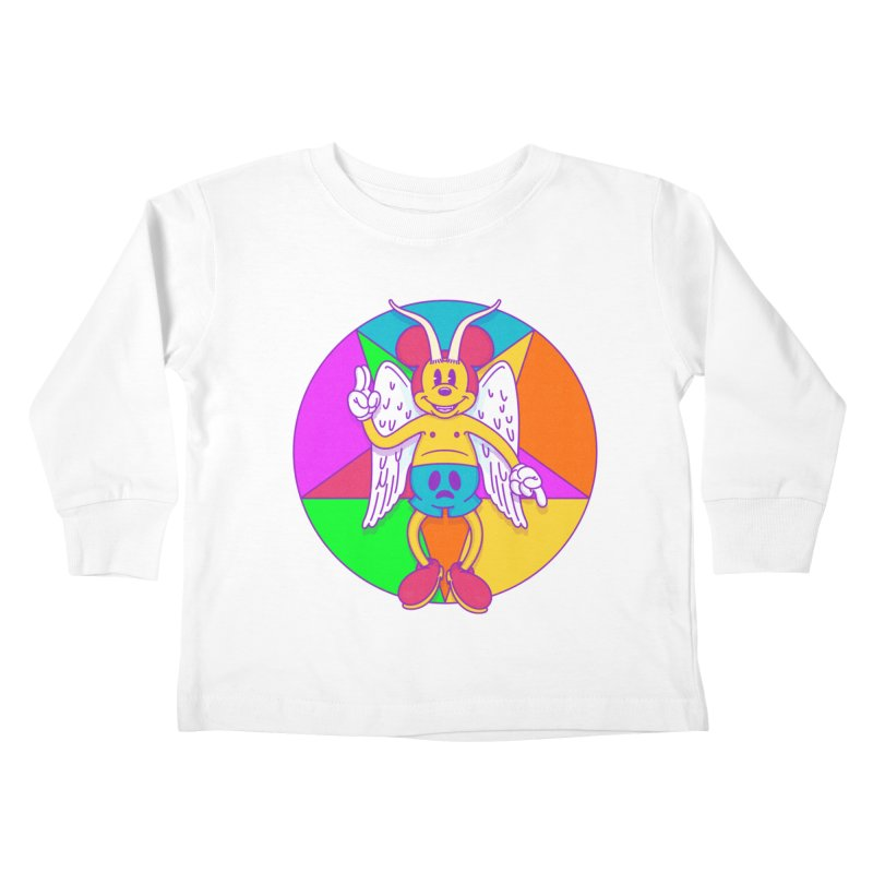 Better the Devil you Know Kids Toddler Longsleeve T-Shirt by Quick Brown Fox