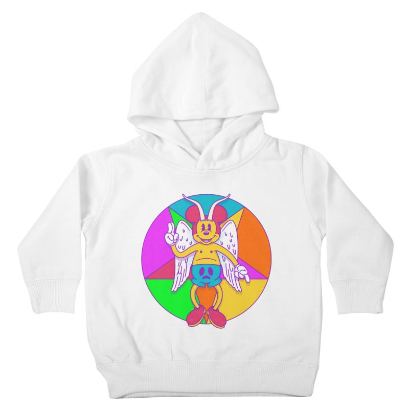 Better the Devil you Know Kids Toddler Pullover Hoody by Quick Brown Fox
