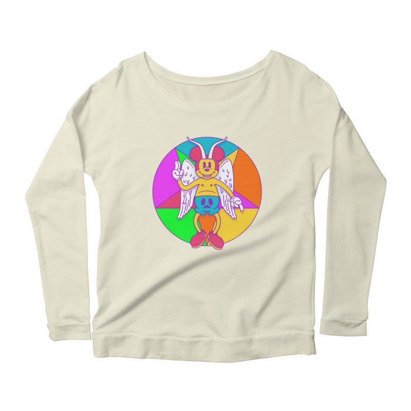 Better the Devil you Know Women's Longsleeve Scoopneck  by Quick Brown Fox