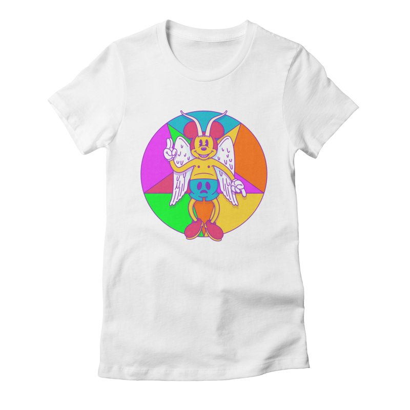 Better the Devil you Know Women's Fitted T-Shirt by Quick Brown Fox