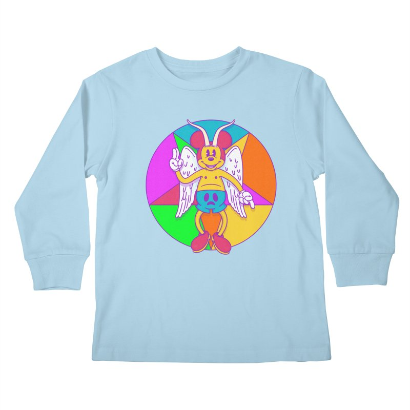 Better the Devil you Know Kids Longsleeve T-Shirt by Quick Brown Fox