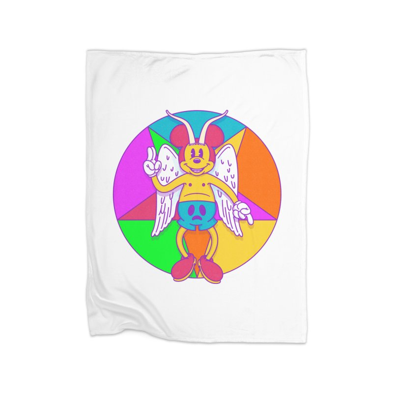 Better the Devil you Know Home Blanket by Quick Brown Fox