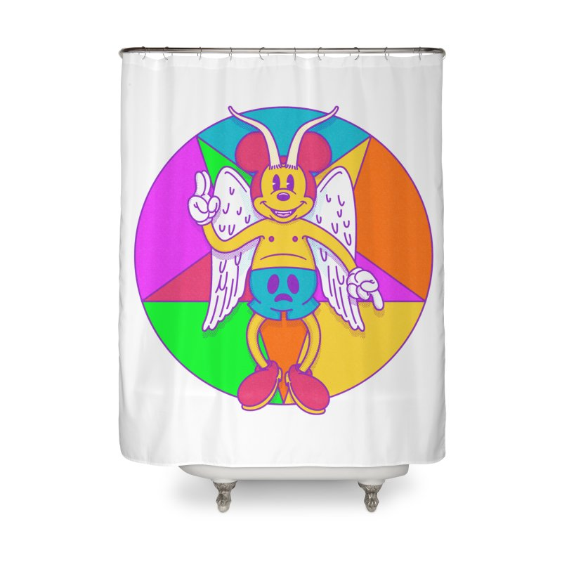 Better the Devil you Know Home Shower Curtain by Quick Brown Fox