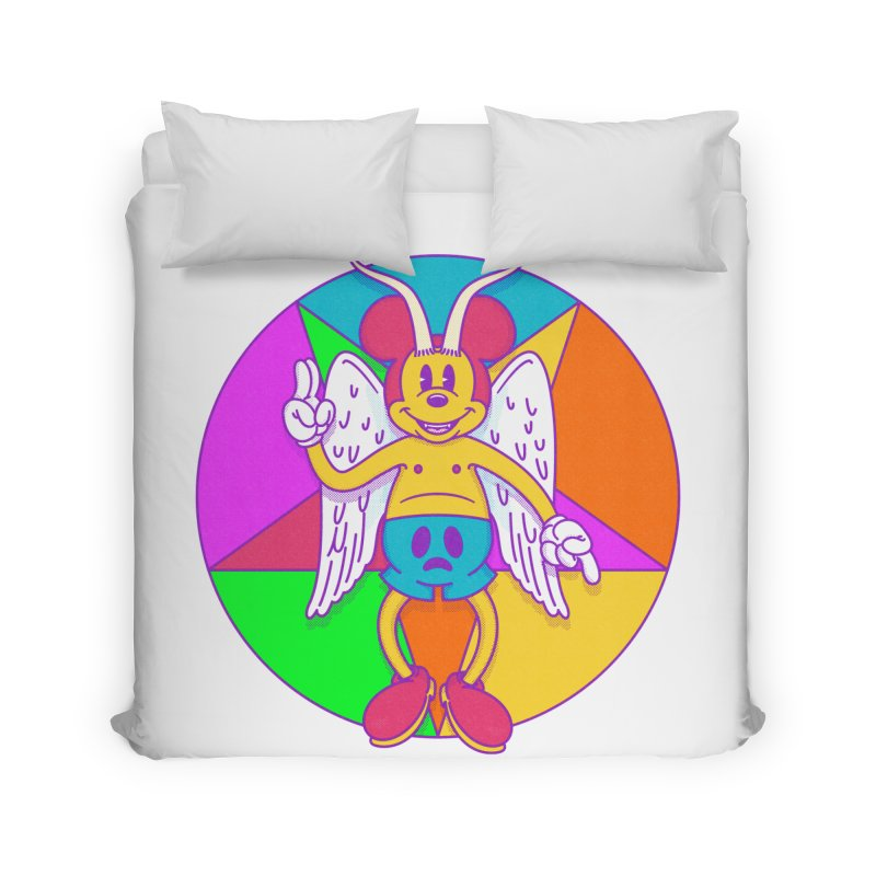 Better the Devil you Know Home Duvet by Quick Brown Fox
