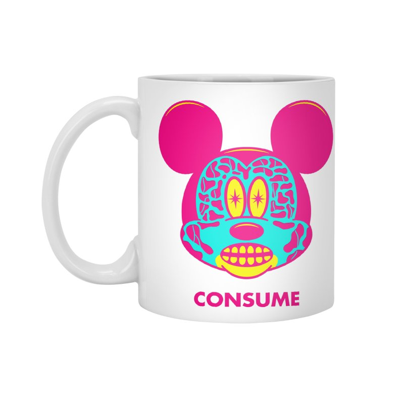 Consume Accessories Mug by Quick Brown Fox