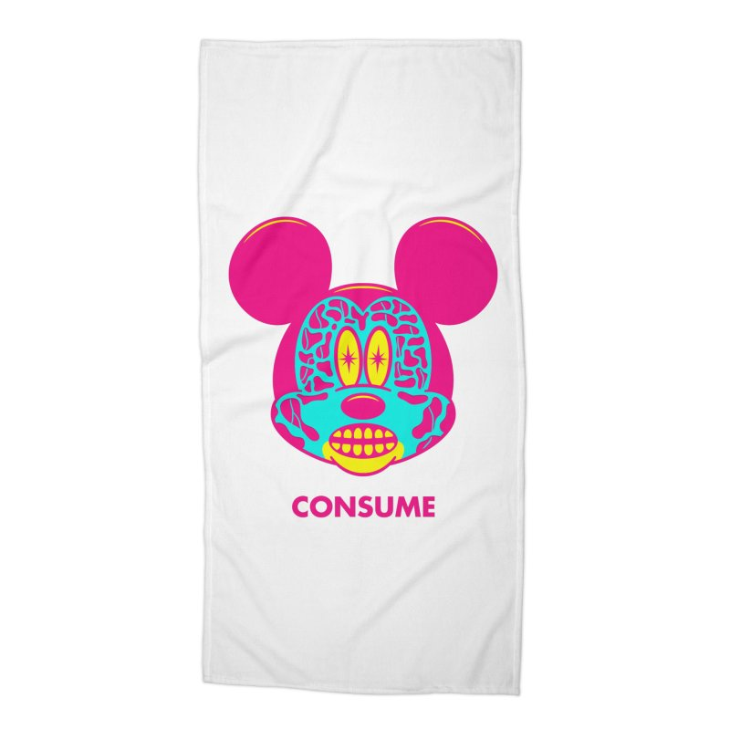 Consume Accessories Beach Towel by Quick Brown Fox